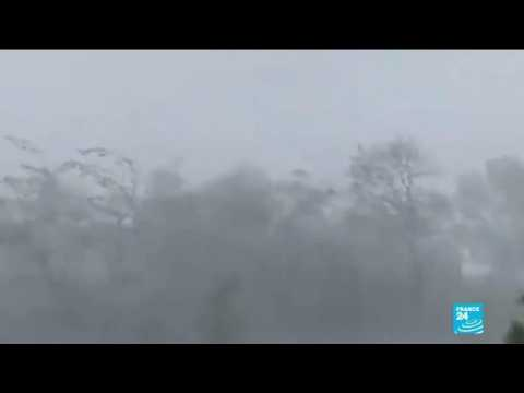 Super typhoon Goni batters the Philippines
