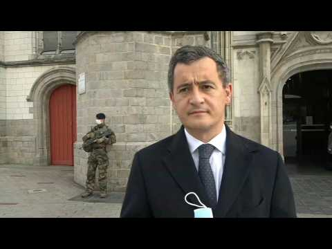 French Interior Minister visits church in Tourcoing to reassure Catholics
