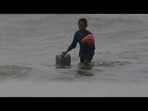 Typhoon Goni hits Philippines with winds of 225 kmph