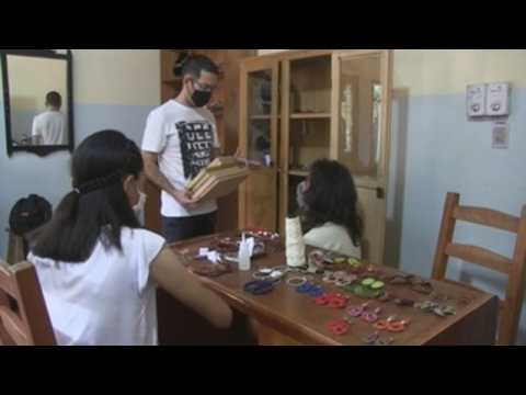 Group of Paraguayan women make sustainable jewelry out of recycled copper