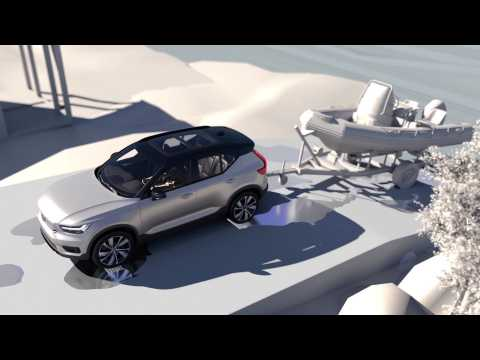 Volvo XC40 Recharge P8 Towing Capability