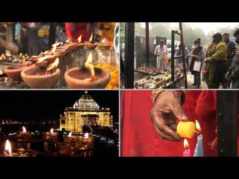 Indians celebrate quiet Diwali amid virus fears