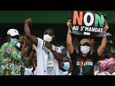 Ivory Coast opposition in united front at 30,000 strong pre-election rally