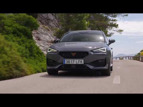 The new CUPRA Leon Sportstourer Driving Video