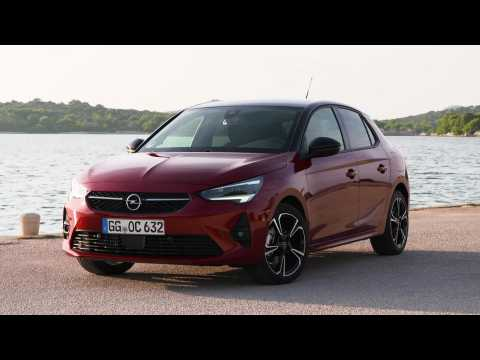 The new Opel Corsa Exterior Design in Red