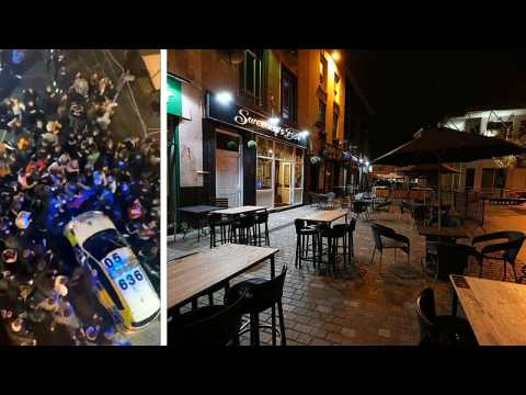 Liverpool mayor says images of crowded streets hours before new COVID-19 measures 'shame our city'