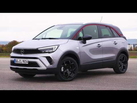 The new Opel Crossland Exterior Design in Grey