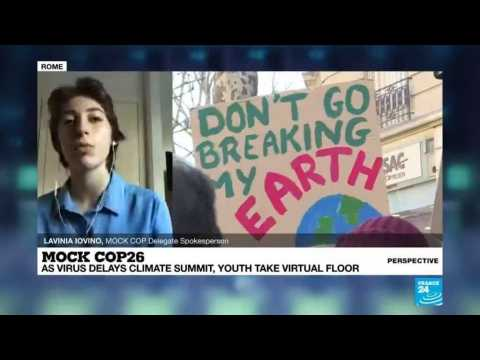 Mock COP26: Young people 'have the courage' to bring climate change to the forefront