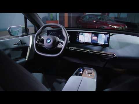The BMW iX Interior Design