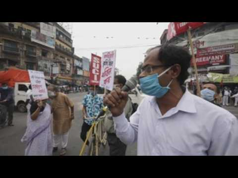 Farmers protest across India against government