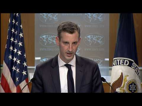 'We stand with the people' of Myanmar, says US State Department spokesman