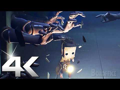 LITTLE NIGHTMARES 2 Gameplay Trailer 4K (2021) PS5, Xbox Series X, Switch