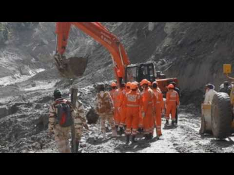 Rescue operation continues following Himalayan disaster in India