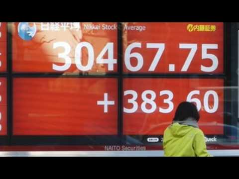 Nikkei ends up 1.28& at fresh 30 year high