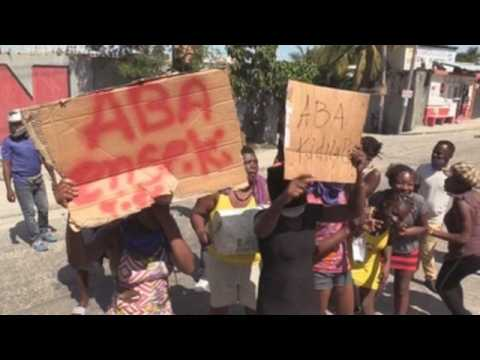 Kidnapping of elderly man sparks protest in Port-au-Prince