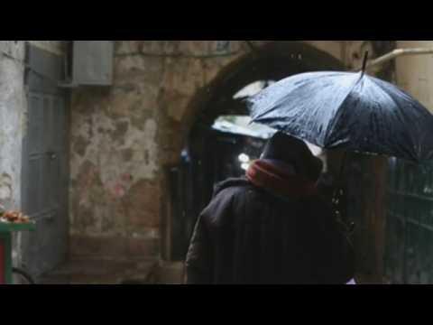 Major winter storm hits West Bank