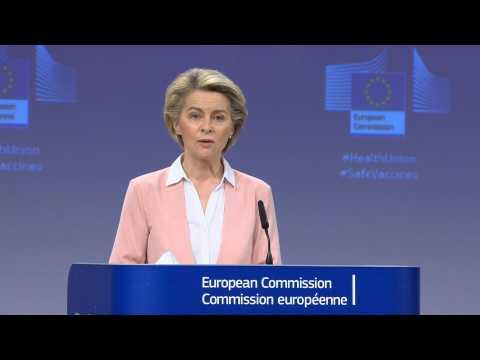 EU buys 300 million more Moderna vaccine doses: von der Leyen