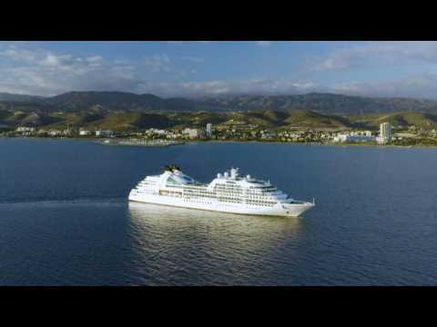 Virus-stranded cruise ships tread water off Cyprus