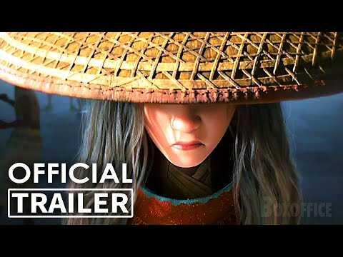 "RAYA AND THE LAST DRAGON ""Ninja"" Trailer (Animation, 2021) NEW"