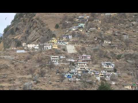 Climate change threatens future of village hit by India glacier