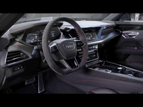 Audi e-tron GT experience - Audi RS e-tron GT Interior Design in Studio