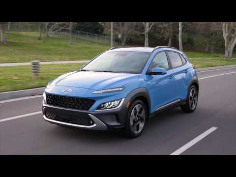 2022 Hyundai Kona Limited Driving Video