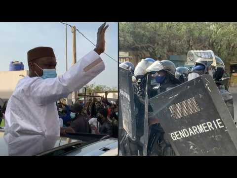 Clashes in Senegalese capital before arrest of opposition figure Ousmane Sonko