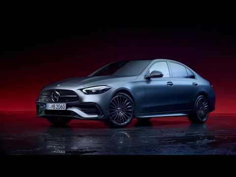 The new Mercedes-Benz C-Class Sedan Exterior Design in Studio