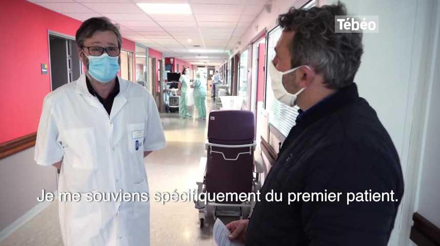 Thumbnail Covid-19 : le responsable du service de réanimation du CHRU de Brest se rappelle du premier patient