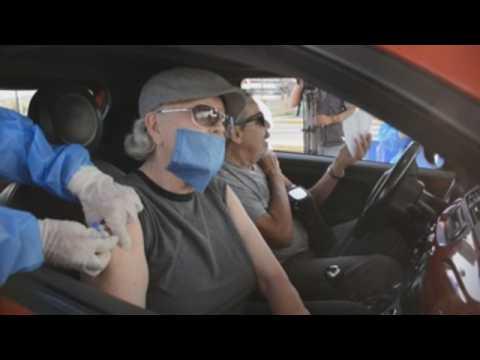 Mexico's 1st drive-thru Covid-19 vaccine site opens in Guadalajara