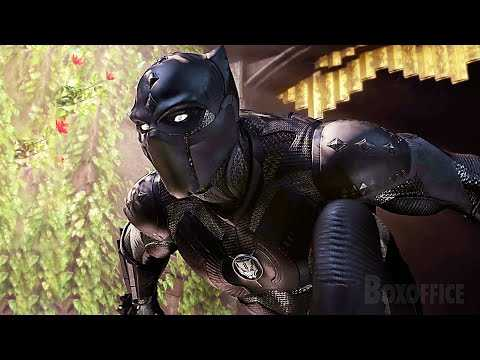 MARVEL'S AVENGERS Black Panther Trailer 4K (2021) PS5/Xbox Series X
