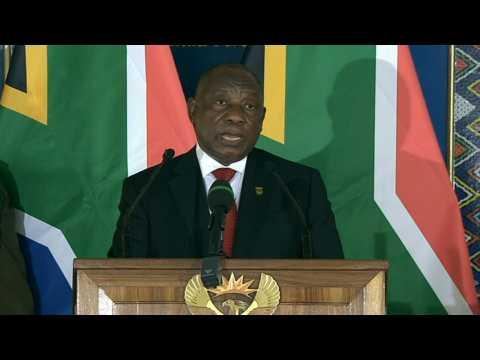Ramaphosa at Zulu king memorial: 'Our nation is in mourning'