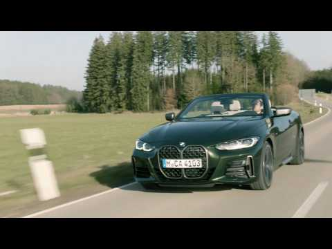 The all-new BMW 4 Series Convertible Driving Video