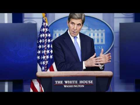 Climate change: US envoy John Kerry kicks off Europe tour in London