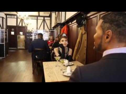 New York based restaurant fills empty tables with  Madame Tussauds wax figures