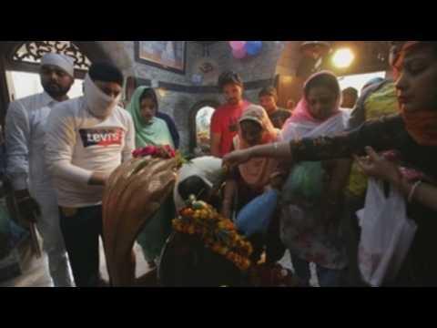 Thousands of Hindus celebrate Shivratri festival in India