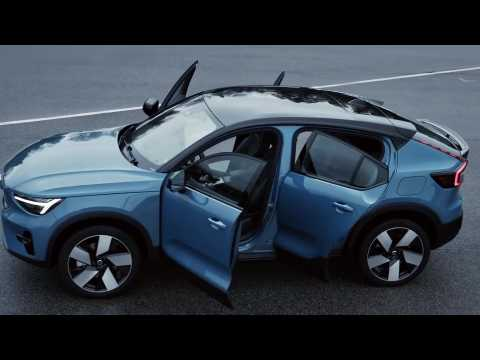 Volvo C40 Recharge Design Preview