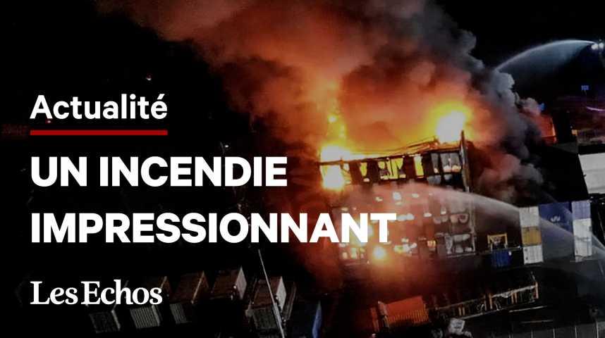 Illustration pour la vidéo Incendie chez OVH Strasbourg: de 12.000 à 16.000 personnes ont perdu tout ou partie de leurs données