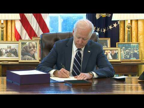 Biden signs $1.9 trillion US stimulus package into law