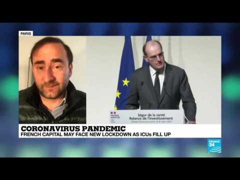 Coronavirus pandemic in France: Paris may face new lockdown as ICUs fill up