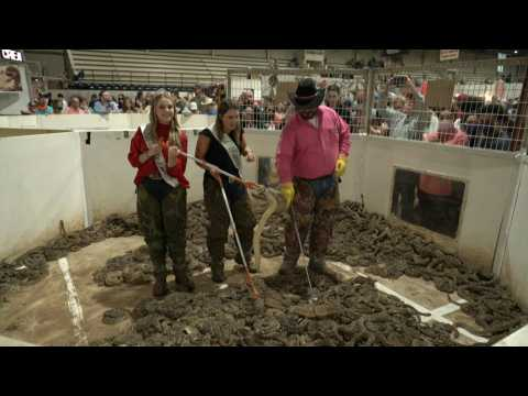 Rattlesnake Roundup takes place as Covid-19 restrictions are lifted in Texas