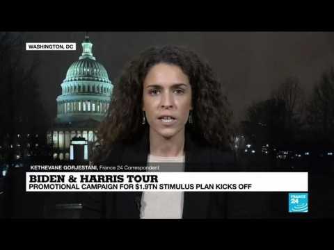 Biden & Harris tour: Promotional campaign for $1.9  trillion relief plan kicks off