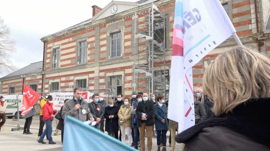Thumbnail Pontivy : mobilisation pour le retour d'une ligne Saint-Brieuc/Auray