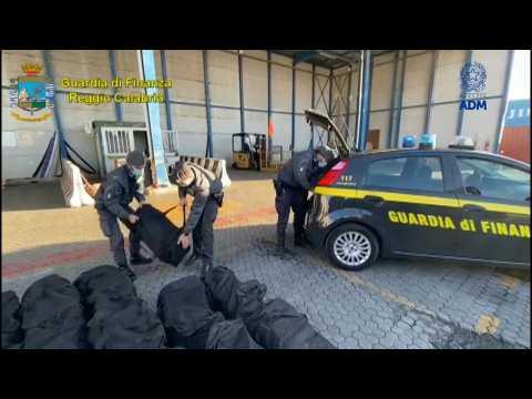 Italy police make major mafia drugs bust