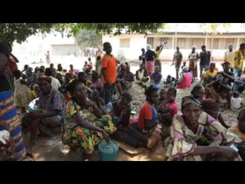 More than 2,500 displaced people take refuge in a village in CAR due to the threat of armed groups
