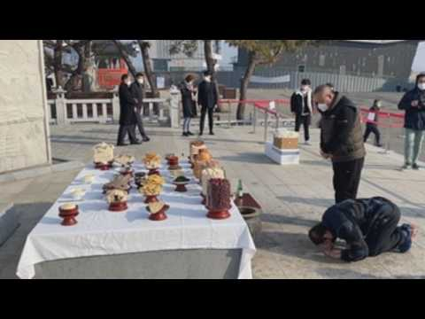 South Koreans pay homage to ancestors to mark Lunar New Year