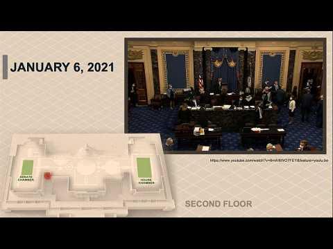 US Impeachment Capitol Security Video