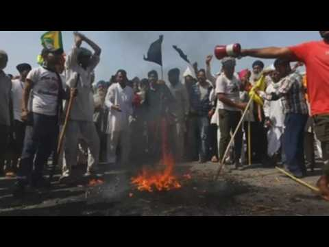 Farmers protests continue in India