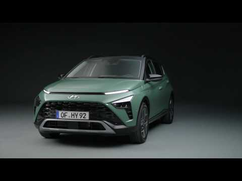 The all-new Hyundai BAYON Design Preview