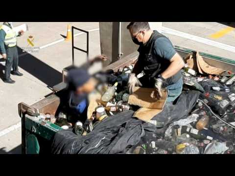 41 migrants found at Spanish port including one hiding in toxic waste